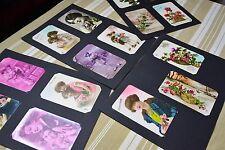 Lot 15 cartes postales anciennes bonne année CPA CP