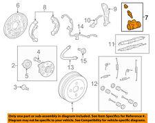 TOYOTA OEM Rear-Wheel Cylinder 4757002020