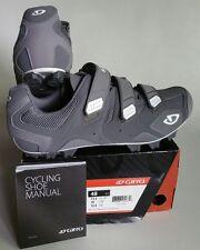 Giro Carbide Cycling Cleat Shoes Lead/White (Gray) Men's Sz 13.5 US / EU 48 NEW