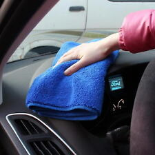 5 X Super Water Absorbent Microfiber Cleaning Towel Car Wash Clean Cloth 30x70cm