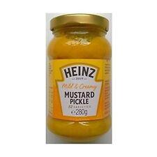 Heinz leve & Cremoso mostaza Pickle 8 X 280gm