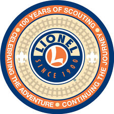 LIONEL 30123-P BOY SCOUTS 100th ANNIVERSARY PATCH