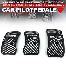 3 Pcs MT Non-Slip Racing Sport Manual Car Truck Pedals Pad Cover Set BK Univers