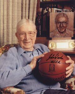 John Wooden - Iconic UCLA Basketball Coach - Autographed 8x10 Photo