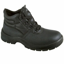 Chukka Safety ST Work Boots Leather Steel Toe Cap & Midsole Size 3-13 Mens New