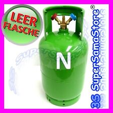 3S LEER KÄLTEMITTEL FLASCHE 2-V 12 L Eigentumsflasche Doppelventil R410A R134A