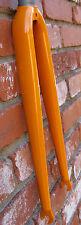 SEAMUS Orange Custom Steel Fixed Gear Track Bike Road Fork 362 SHIPS FREE USA