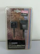 *NEW* Vivitar Dedicated TTL Off-Camera Shoe Cord Fits Sony, 4 Feet