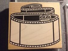 NEW Filmstrip Frame Wood Mounted Rubber Stamp by Rubber Stampede