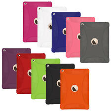AMZER Gel Silicone Skin Jelly Case For Apple iPad Air 2 2014 UK Screen Protector