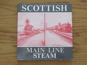 Book : Bradford Barton : Scottish Main Line Steam