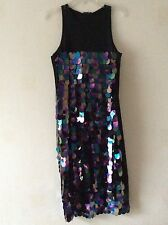 ZARA Sequinned Strap Midi Party  Dress  Size: Small BNWT!