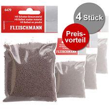 Fleischmann 6479 H0 4x Schotter-Streumaterial (600g) ++ NEU & OVP ++
