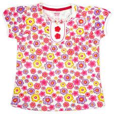 Vêtements T-shirt multicolore pour fille de 2 à 16 ans en 100% coton