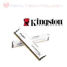 Memoria Ram DDR3 Kingston 4GB 1600Mhz HX316C10FW/4 FURY Hyperx White Dissipatore