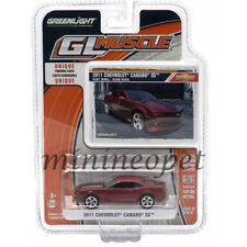 GREENLIGHT 13100 E GL MUSCLE 2011 CHEVROLET CAMARO SS 1/64 DIECAST RED