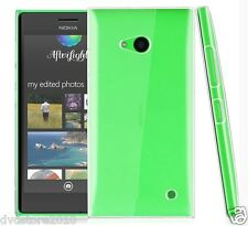 Custodia BACK cover TRASPARENTE CRYSTAL Rigida per Nokia Lumia 735 730 RM-1039