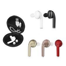 Mini Bluetooth 4.1 senza fili Auricolari stereo cuffie per iPhone Samsung J5H4