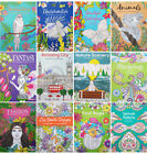 A4 ADULT TEENS ANTI-STRESS MIND RELAXING COLOURING BOOK BOOKS Colour Therapy
