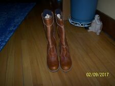 Timberland Earthkeepers RUDSTON Gorgeous Light Brown Boots, 9.5 M.