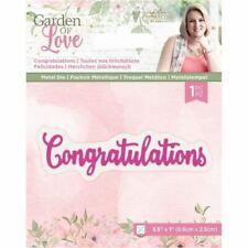 Sara Davis - Garden of Love Craft Collection - Metal Die - Congratulations