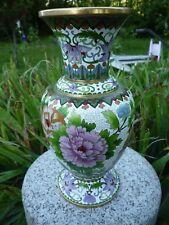 Vase chinois cloisonné