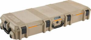 """Pelican V730 Vault Tactical Rifle Case 44"""" Tan w/ Wheels"""