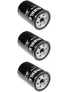 Set of 3 BMW 325 Mahle Engine Oil Filters OC49 11421707779