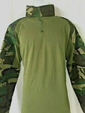 Men Wolf Warriors Army Camouflage Tactical  Long Sleeve Shirt XXL