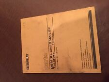 CATERPILLAR CAT D5M XL D5 LGP TRACTOR DOZER PARTS BOOK S/N 5ES 6AS