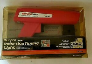 Vintage Sunpro Inductive Timing Light  CP7504 Made in the USA New