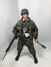1/6 HASBRO GERMAN LUFTWAFFE PARATROOPER OFFICER FG42 NORMANDY DRAGON DID BBI WW2