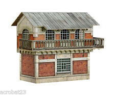 Building POST CONTROL SWITCHES & SIGNALS HO Scale 1/87 Railway Train Model Kit