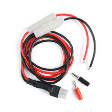 1M 30A Fuse Short Wave Power Supply Cord Cable for Yaesu FT-857D FT-897D IC-725A