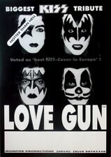 LOVE GUN - Tourplakat - KISS Tribute - Hotter than Hell - Tourposter