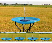 Floating Solar Birdbath Bubbler - Water fountain for bird baths - Be300