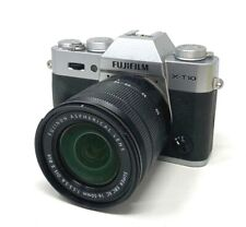 Fujifilm X Series X-T10 16.3MP Digital Camera - Silver (Body Only)