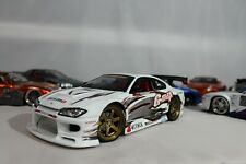 1/18 JDM NISSAN SILVIA S15 NISMO DRIFT MUSCLE MACHINES Die-cast WHITE CUSTOM