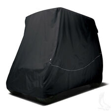 "Fairway Universal Golf Cart Heavy Duty Storage Cover Fits 80"" Tops - Black"