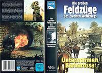 (VHS) Die großen Feldzüge des Zweiten Weltkriegs - Unternehmen Barbarossa