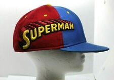 New Era 59Fifty DC Comics Superman Red and Blue Wool Blend Fitted Cap 7 3/8