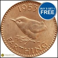FARTHING Elizabeth & GeorgeVI  Each Choose your Date 1937-1956