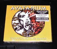 AVATARIUM HURRICANES AND HALOS LIMITIERTE DIGIPAK EDITION CD  NEU & OVP