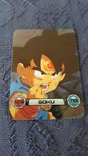New Dragon Ball GT Limited Edition Lamincards Goku Headshot Clear Trading Card