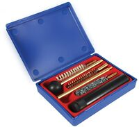 Universal Gun Brushes Cleaning Kit for Cal .38 .357 9mm Pistol and Revolver