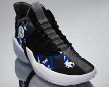 Jordan React Elevation Men's Black Blue White Athletic Basketball Sneakers Shoes