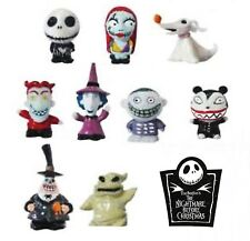 Nightmare Before Christmas - Jack Sally Zero & More - 9 Piece Figural Eraser Set