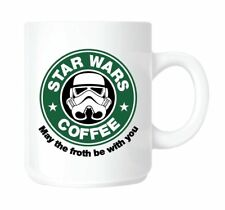 Star Wars, Starbucks Coffee parody MUG. Ceramic TEA/COFFEE PRESENT/GIFT/MUG/CUP