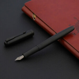 jinhao 75 classic matte black Feather Arrow Tungsten steel nib Fountain Pen