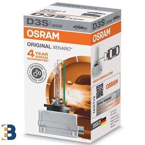 D3S Osram ORIGINAL 66340 XENON BIRNE XENARC HID 35W Single Glühbirne NEU